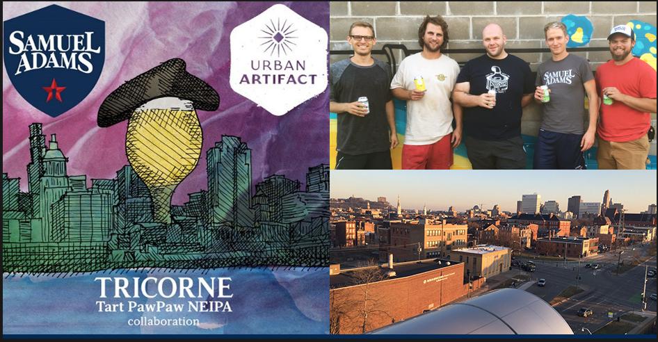Tricorne beer detail page