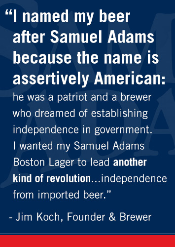 Donald Trump  Sam Adams  and The Modern Sons of Liberty      The     How Sam Adams founder crushed his sales goal of    million and hit     billion instead